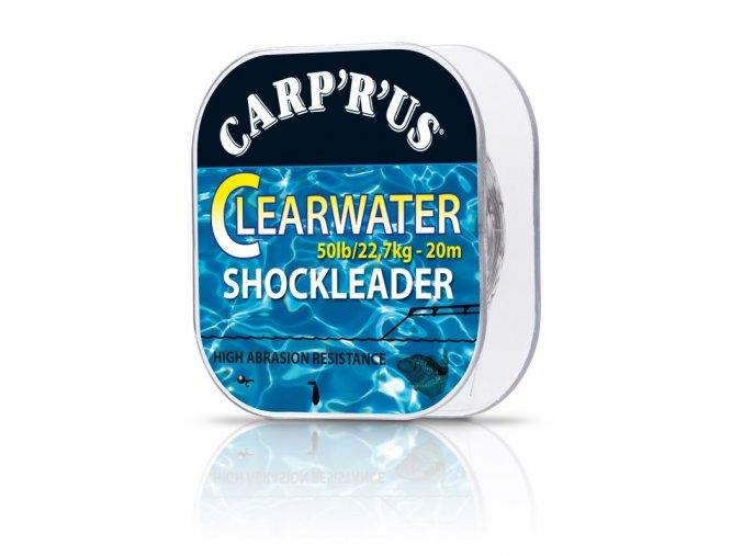 Carp´R´Us fluorocarbon Clearwater Shockleader 20m 50lb