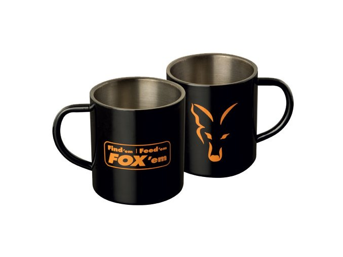 Fox hrnek Stainless Steel Mug 400ml