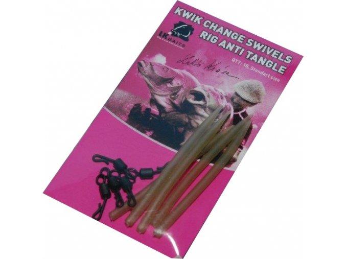 Kwik Change swivels:Rig Anti Tangle