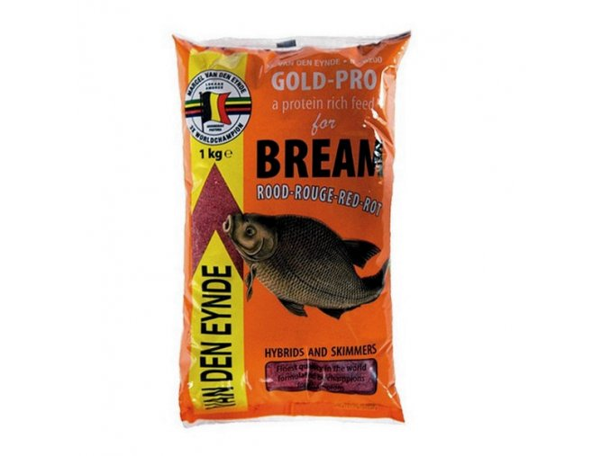 Gold Pro Bream Red