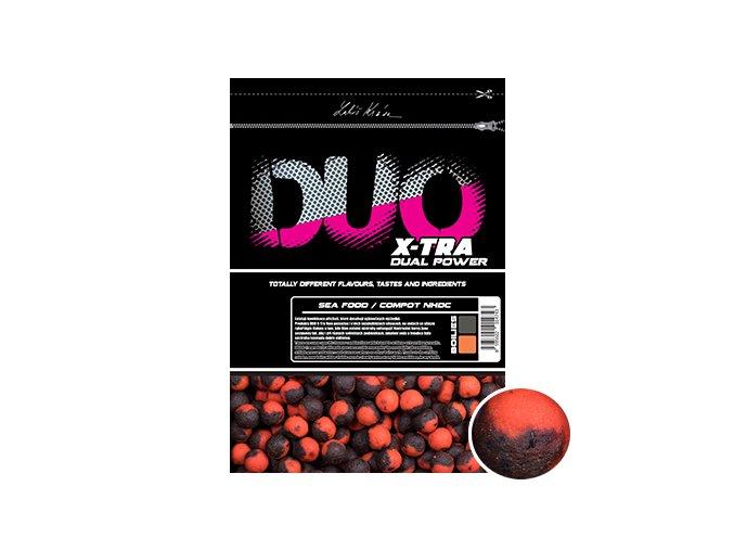 DUO X Tra boilies Sea Food:Compot NHDC 1