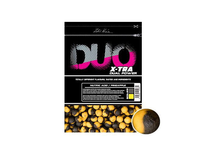 DUO X Tra boilies Nutric Acid:Pineapple 1