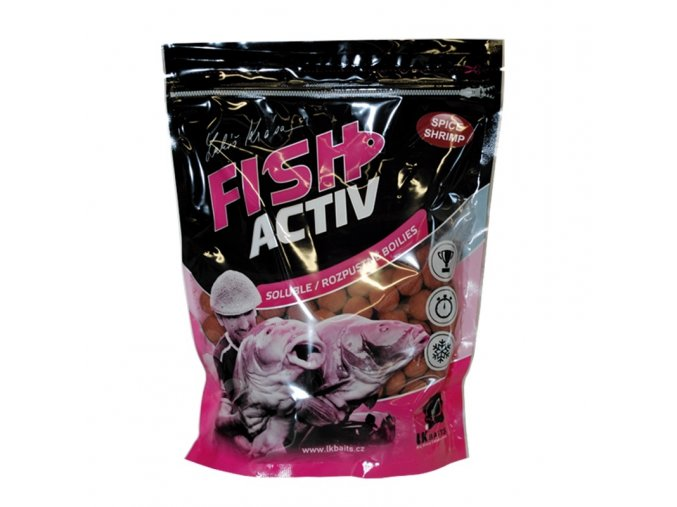 Fish Activ boilie Spice Shrimp