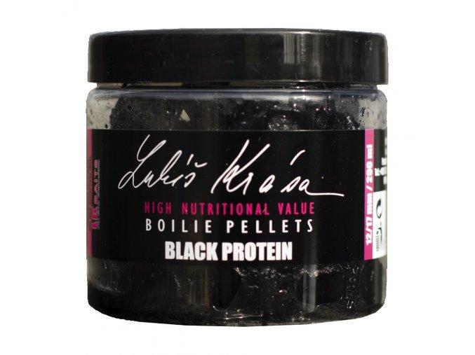 Boilie Pellets Black Protein