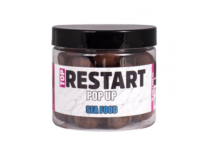 LK Baits Top ReStart Pop-Up Sea Food 150ml + dip