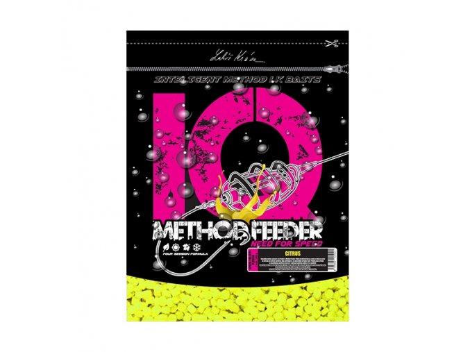 IQ Method Feeder Speed Fluoro Pellets Citrus 1