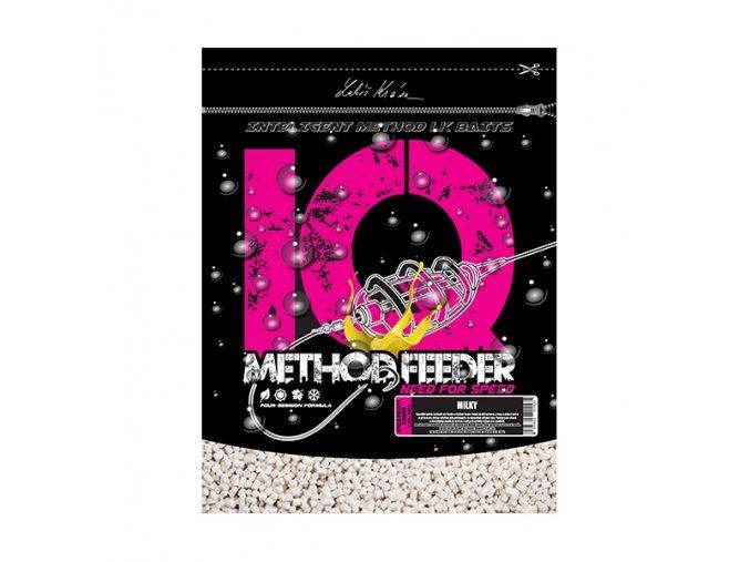 IQ Method Feeder Speed Fluoro Pellets Milky 1