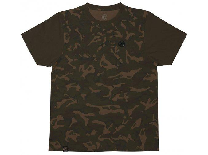 Fox tričko CHUNK Camo/Dark Khaki Edition T-shirt