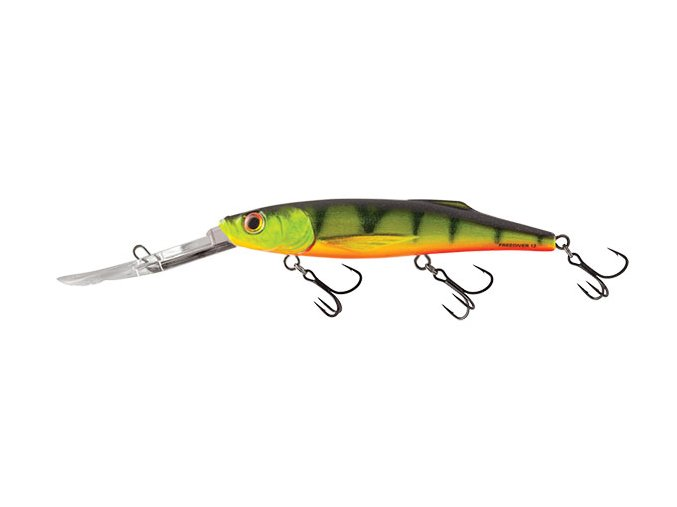 Salmo wobler Freediver Super Deep Runner Hot Perch