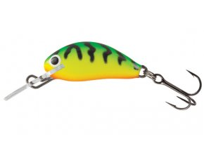 Salmo wobler Hornet Floating Green Tiger