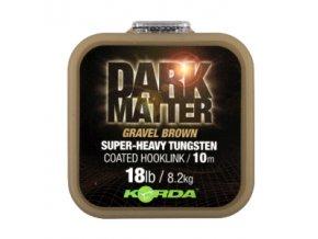 Dark Matter Tungsten Coated Braid Gravel Brown