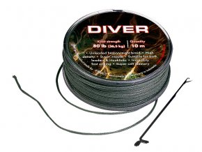 Sportcarp návazcová šňůrka Diver Olive Green