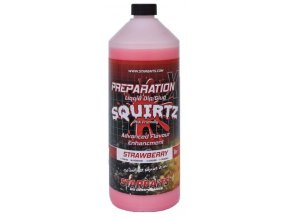 Starbaits Booster Prep X Squirtz Strawberry 1l