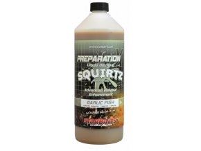 Starbaits Booster Prep X Squirtz Garlic Fish 1l