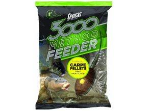 Sensas krmení 3000 Method Carpe Pellets 1kg