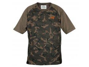Fox Chunk Camo Khaki T shirt