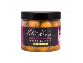 LK Baits Fresh Boilies Record Corn 150ml 14mm