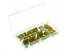 Extra Carp sada korálků Rubber Beads Set 3