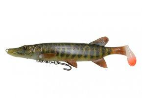 4D Pike Shad Striped Pike