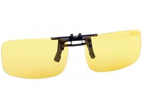 G Glasses Clip On Glass Amber