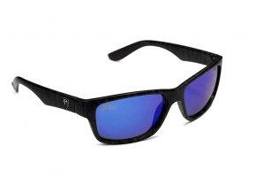 Camo Sunglasses Grey Lens Blue Mirror