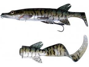 3D Hybrid Pike Green Silver Pike
