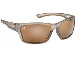 Avius Wraps Trans Khaki Frame:Brown Mirror Lens