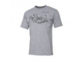 Cannibal Ink Tee Grey Melange 1