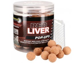 Starbaits plovoucí boilies Concept Pop Up Red Liver 80g