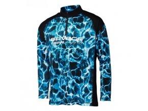 Marine UV Long Sleeve Tee Sea Blue