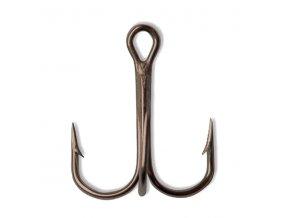 Round Bend Treble Hook