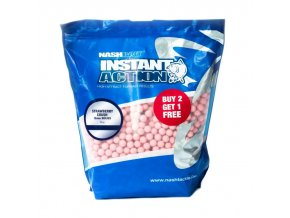 NashBait Instant Action Boilies Strawberry Crush