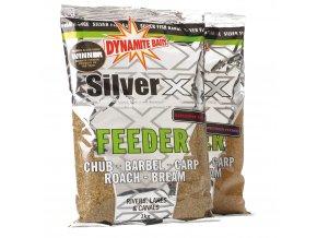 Dynamite Baits krmítková směs Silver X Feeder 1kg