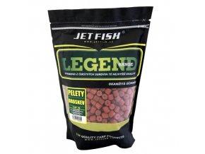 JET Fish Legend Range pelety Broskev 1kg