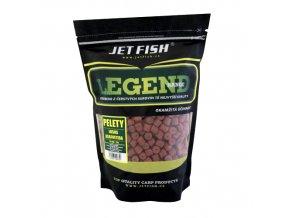 JET Fish Legend Range pelety Losos/Asafoetida 1kg