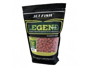 JET Fish Legend Range pelety Švestka/Scopex 1kg