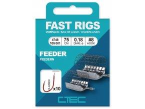 SPRO návazec C-Tec Fast Rigs Classic Feeder