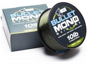 Nash vlasec Bullet Mono Green 1000m