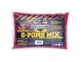 Fishing House partiklový S-pomb Mix Jahoda 1,5kg