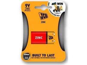 JCB zinko-chloridová baterie 6F22/9V