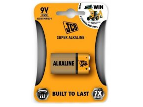 JCB Super alkalická baterie 6LR61/9V