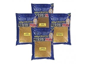 Lorpio krmítková směs MEGAMIX Plotice Čokoláda 3kg