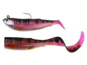 Savage Gear gumová nástraha Cutbait Herring Kit 25cm 460g Mama Rosa (Glow+UV)