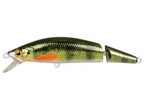 SPRO wobler Ikiru Jointed Floating Chrome Green Perch