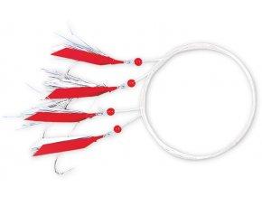 Zebco mořský návazec Mackerel Rig Red Multi-Colored