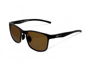 Delphin brýle fotochromatické SG Black Hnědé skla