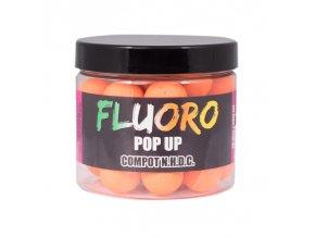 LK Baits Fluoro Pop-Up Compot NHDC (oranžová) 150ml + dip