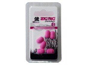 Zig Rig Dumbells Pink
