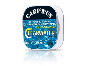 Carp´R´Us návazcový fluorocarbon Clearwater 20m