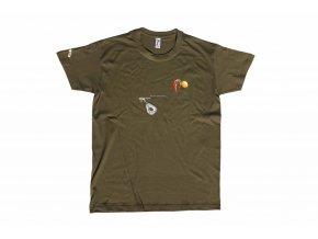Carp´R´Us tričko Mouthsnagger - zelená
